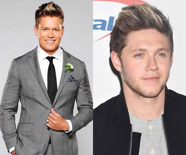 **Sean T and Niall Horan** - This one might be purely because of the hair, but we can't shake the 1D comparisons.