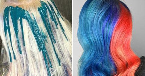 Drip Dye Hair\' is the new colouring technique all over your feeds ...