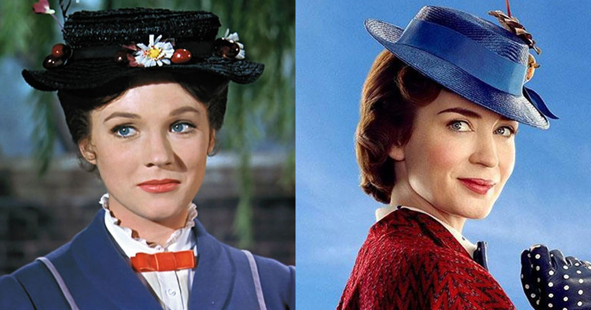 Cast Of U002639 Mary Poppins Returns U002639 Compared To The Original Cosmopolitan Australia