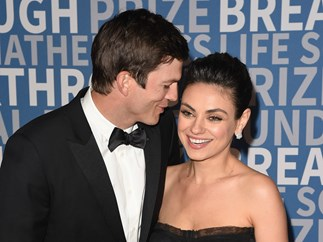 I'ma let you finish, but Mila Kunis and Ashton Kutcher had the sexiest kiss cam moment of all time