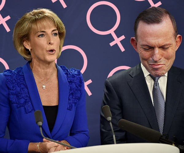 Who was the best Minister for Women: Michaelia Cash or Tony Abbott?