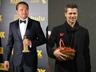 Leonardo DiCaprio and Brad Pitt are starring in a movie together and OMFG!!!