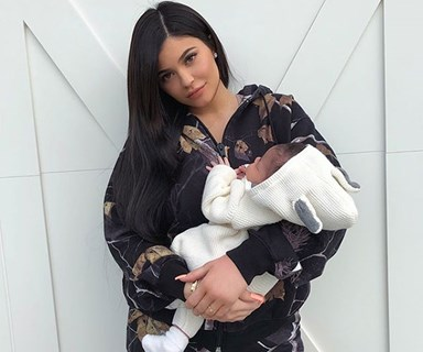 BREAKING: Kylie Jenner just posted her first photo with Stormi Webster and we're crying