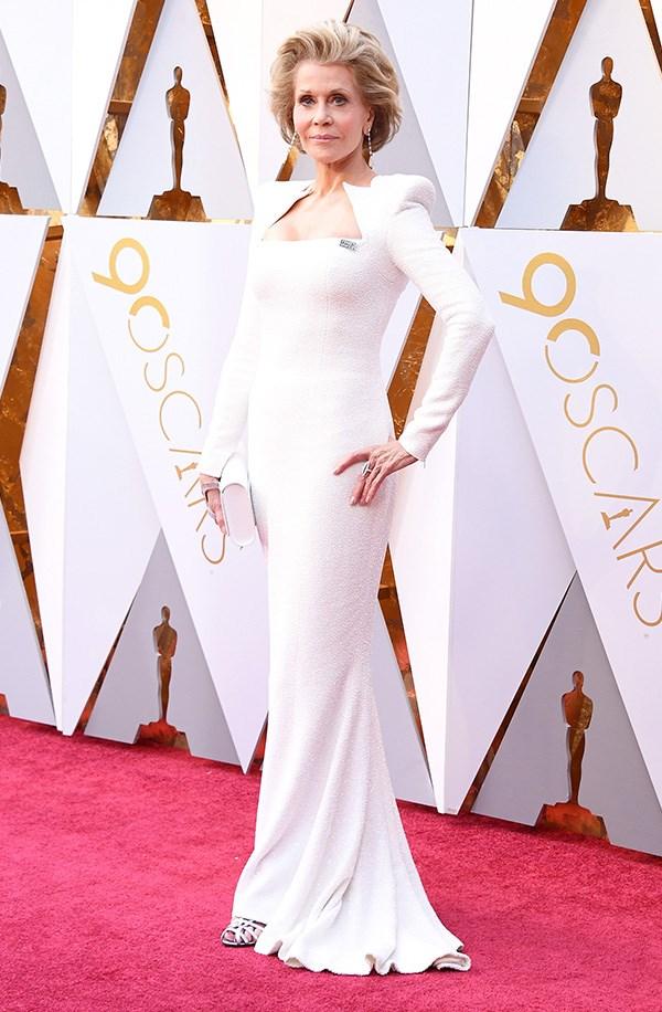 Jane Fonda in Olivier Rousteing
