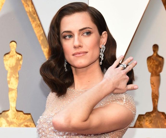 Allison Williams 2018 Oscars