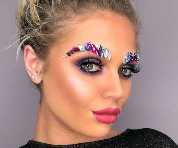 jewel brows trend the gypsy shrine