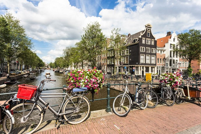 **Aquarius: Netherlands** <br><br> You're the resident hipster among your friends. You love books, quirky cities and prefer getting around town on a bike. Luckily for you, the Netherlands is filled with hotties who feel the exact same way.