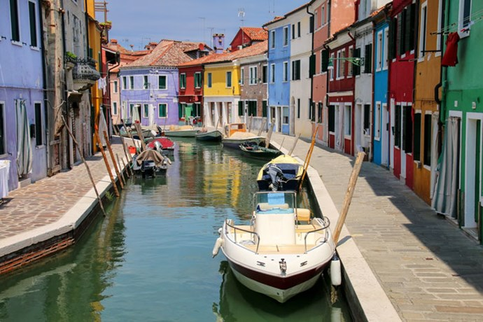 **Sagittarius: Burano** <br><br> You're a creative soul who looks for inspiration every single day. Naturally, somewhere as pretty as Burano (off the coast of Venice) is like a Mecca for your type, so it would only be a matter of time before you find your muse.