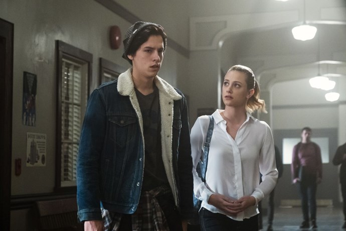 Find me any guy that makes a shearling jacket look as good as Jug. I'll wait.
