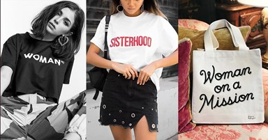 6 Feminist fashion buys to support International Womens Day