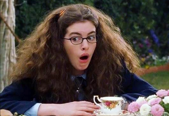 **The Princess Diaries** <br><br> The life of gawky social outcast Mia Thermopolis (played by Anne Hathaway) changes drastically after learning that she's the heir to a tiny European throne. Mia has a tough brush-breaking time during her royal training with her grandmother, Queen Clarisse Renaldi (played by Julie Andrews). A modern and relatable take on the classic Cinderella story — that puts romance on the back burner, but just enough to give you that classic rom-com gooey feel — this film will help you believe in yourself and the other kweens in your life.
