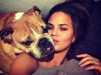 Chrissy Teigen and John Legend's Angel of a Dog, Puddy, Has Passed Away