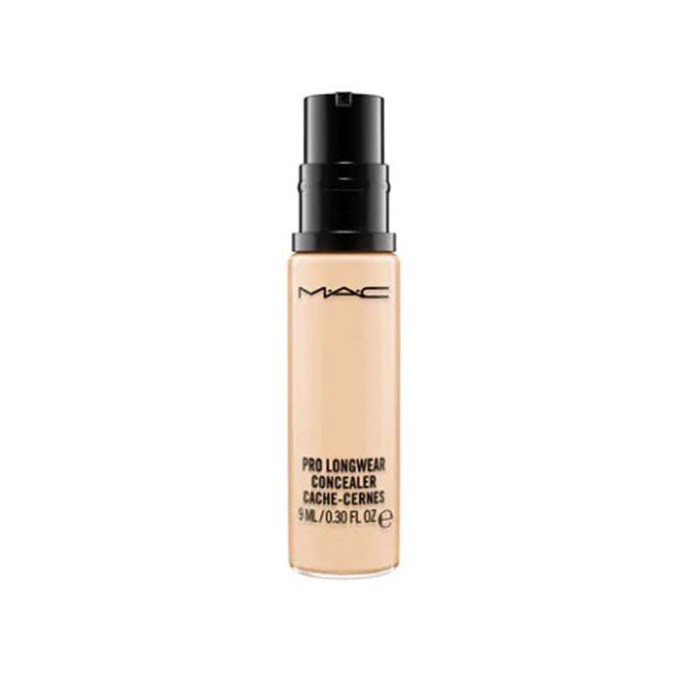 """""""MAC Pro Longwear Concealer (exceptionally skin-like, can be sheered out and worn as foundation in a pinch, very good wear time on oily skin)."""" - lgbtqbbq <br><br> **Buy: MAC Pro Longwear Concealer, $38 at [David Jones](http://shop.davidjones.com.au/djs/en/davidjones/pro-longwear-concealer
