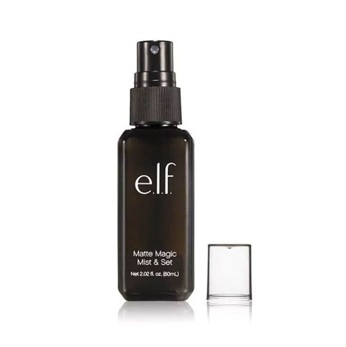 """""""Honestly, e.l.f. matte magic mist and set. When I don't wear it I'm blotting my face multiple times during the day. And it's like $4! Really nice quality for the price."""" - foxx_glove <br><br> **Buy: e.l.f. Cosmetics Matte Magic Mist & Set Spray, $9 at [RY](https://www.ry.com.au/elf-cosmetics-matte-magic-mist-set-spray-60ml/11532490.html