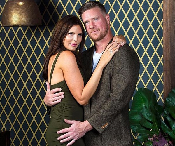 Tracey and Dean on Married at First Sight Australia