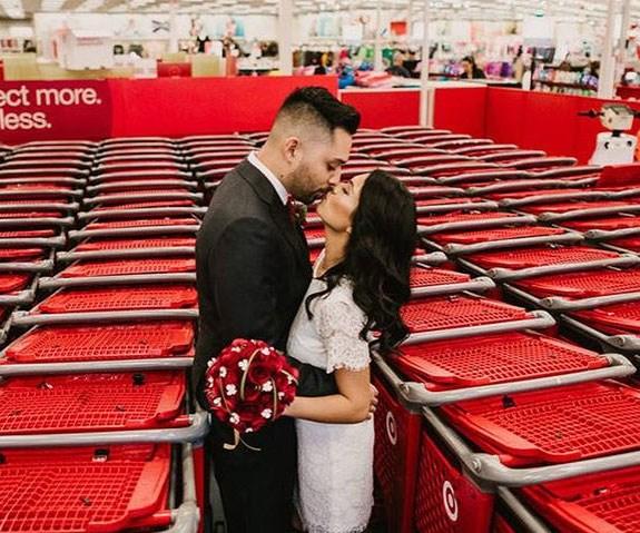 TARGET WEDDING PHOTOS