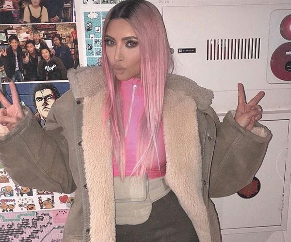 How to get Kim Kardashian's millennial pink hair at home