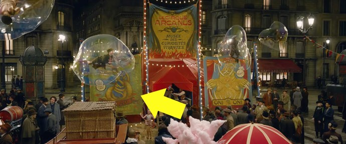 The shot of the circus from the trailer.