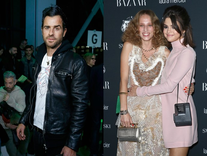 Report: Justin Theroux and Selena Gomez's BFF are dating