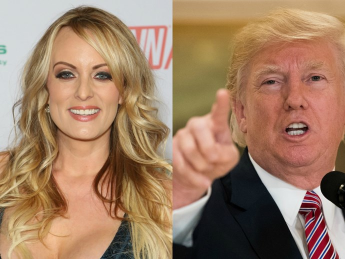 Porn star Stormy Daniels' lawyer says she was physically threatened by Trump's team