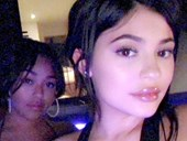 Kylie Jenner posts ~sexy~ pic in hot tub, is officially back, BBs!