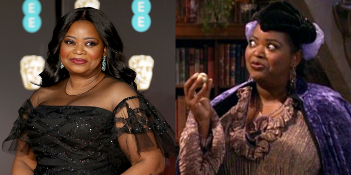 **Octavia Spencer** <br><br> Oscar winner Octavia Spencer, of all people, appeared on two episodes of *Wizards of Waverly Place* as a character named Dr. Evilini. With a name like that, it should be no surprise that she had a nefarious plan to steal someone's powers, but Alex (Selena Gomez) defeated her in the end.