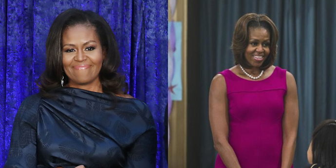 "**Michelle Obama** <br><br> The former First Lady guest-starred on plenty of shows in her time — *Parks and Recreation*, *Nashville*, *iCarly* — but the Disney show lucky enough to host her was *Jessie*. In a 2014 episode called ""From the White House to Our House,"" Obama played herself and helped bring a character's mum home for a birthday party."