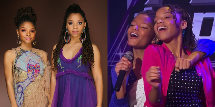 "**Chloe x Halle** <br><br> The Beyoncé protégés and current *Grown-ish* stars Chloe and Halle Bailey appeared in a 2013 episode of *Austin & Ally* and sang a song called ""Unstoppable."" Two years later, Beyoncé signed them to her management company. The Mouse will take you places!"