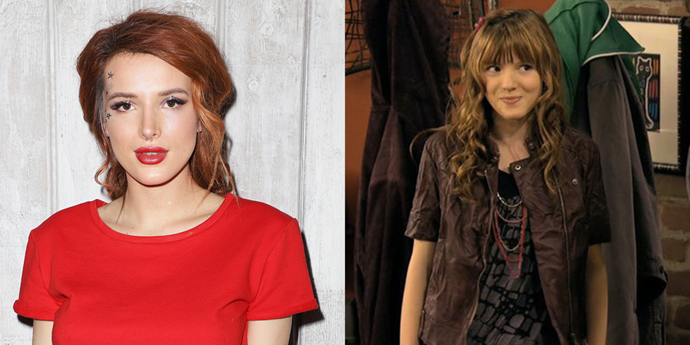 **Bella Thorne** <br><br> Bella was the star (with Zendaya) of the Disney show *Shake It Up*, but before that, she guested on one episode of *Wizards of Waverly Place* as a character named Nancy. Not Disney, but some trivia for all you *O.C.* heads out there — Bella also played young Taylor Townsend in one episode of the show's final season.
