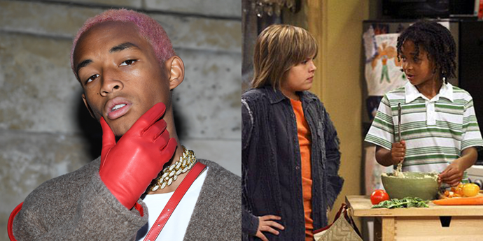 **Jaden Smith** <br><br> Before starring in *The Karate Kid* and *After Earth*, the elder child of Will and Jada appeared in one episode of *The Suite Life of Zack & Cody*. He played a little boy named Travis who offered to teach Zack and Cody how to do martial arts.