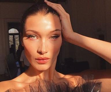 Bella Hadid was insecure about her eyebrows growing up