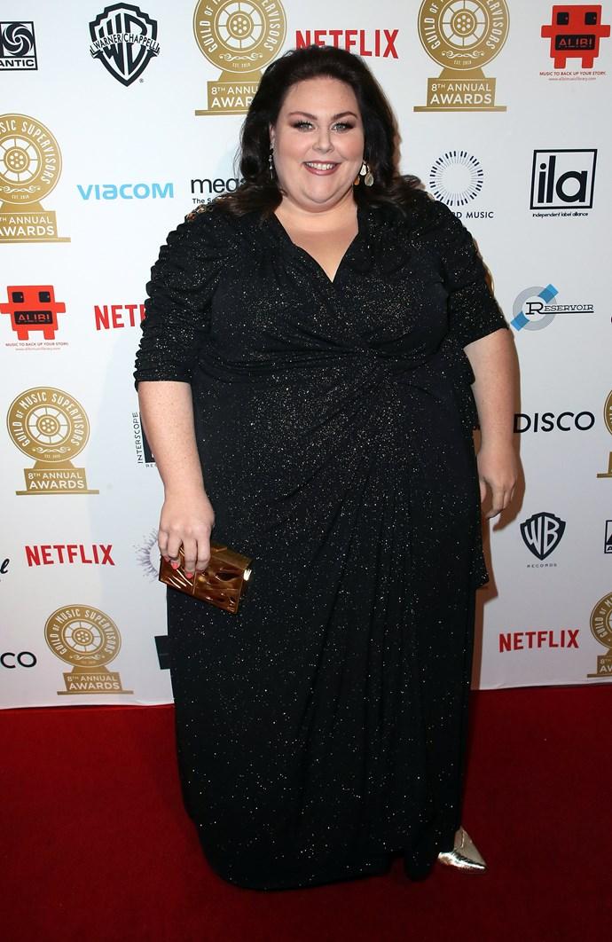 Actor, Chrissy Metz.