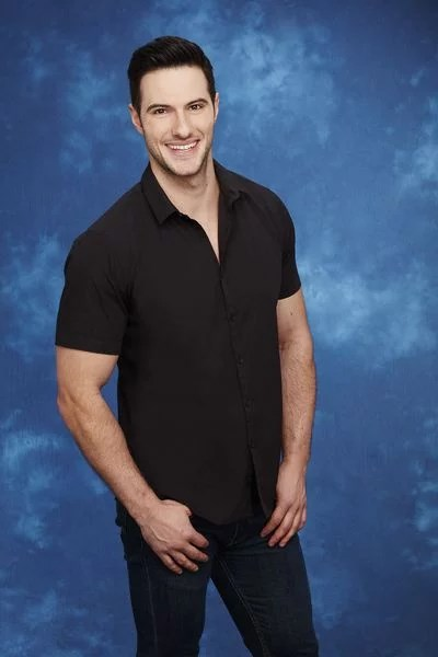 **Daniel Maguire — YES** <br><br> Canadian Daniel is another of the US imports. He was also on JoJo Fletcher's season of *The Bachelorette* US in 2016, and has also appeared on *Bachelor in Paradise* — the same season as Grant. He likes taking his clothes off so we can expect to see plenty of shirtless Daniel on the show.