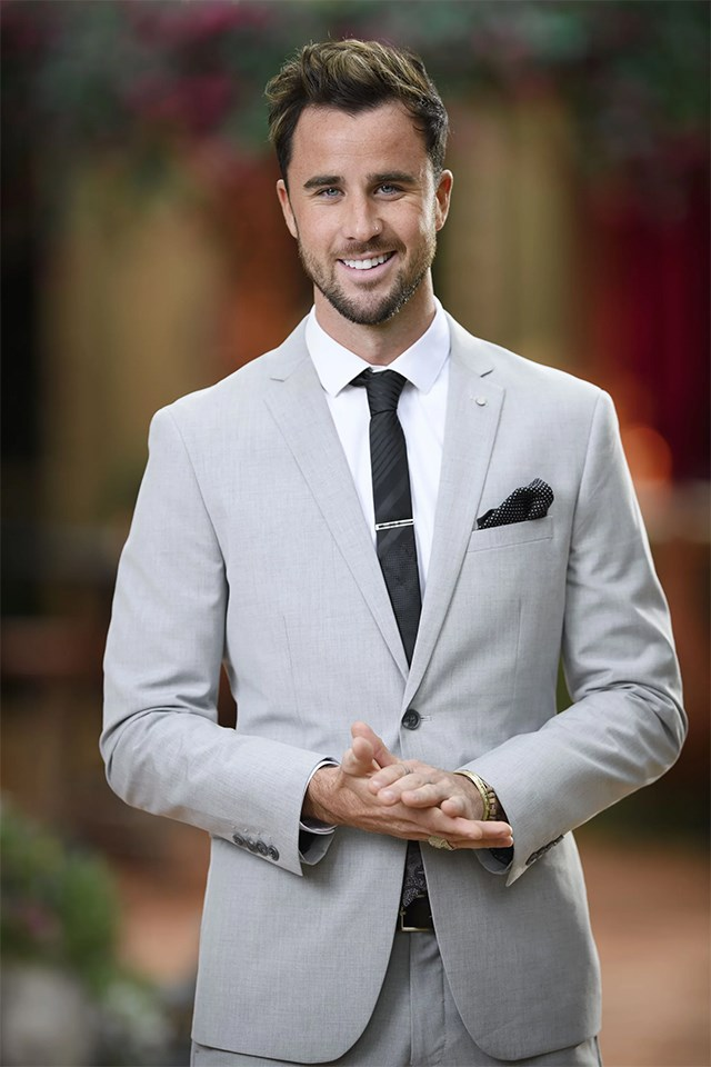**Brett Moore — YES** <br><br> Brett was on Sophie Monk's season of *The Bachelorette* 2017, but he didn't get much screen-time… He appears in the first group photo for *Bachelor in Paradise*, but based on his Instagram he's [dating Stephanie Boulton](https://www.cosmopolitan.com.au/bachelor/the-bachelorette-australia-contestants-where-are-they-now-25774), who was on Matty J's season. Maybe he doesn't last long on *Paradise*, but at least he still managed to find another former contestant to date…