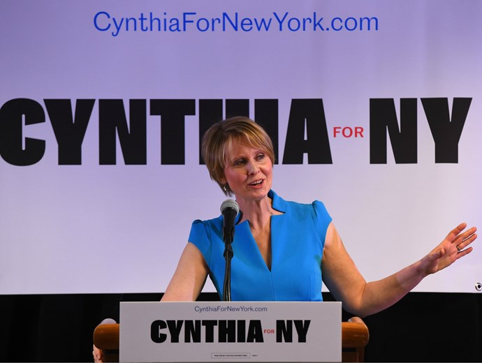"Cynthia Nixon calls out politician who claimed she was an ""unqualified lesbian"""