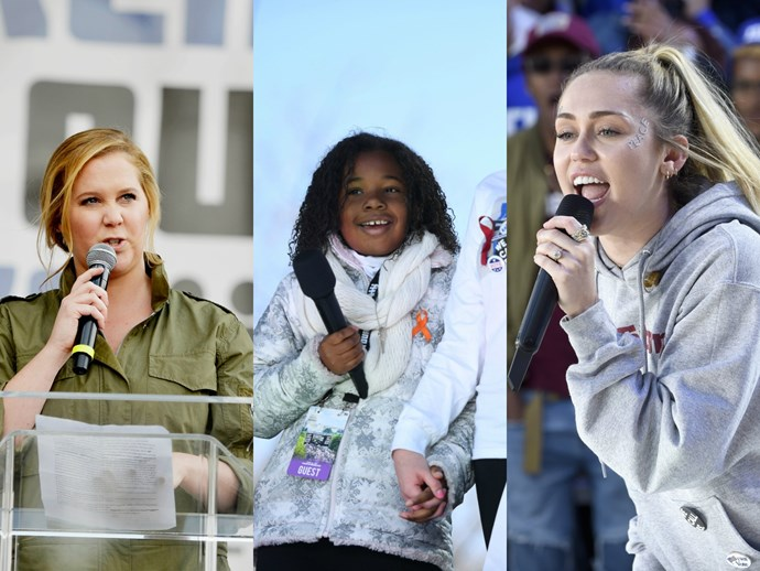 6 celeb's incredibly powerful March for Our Lives speeches