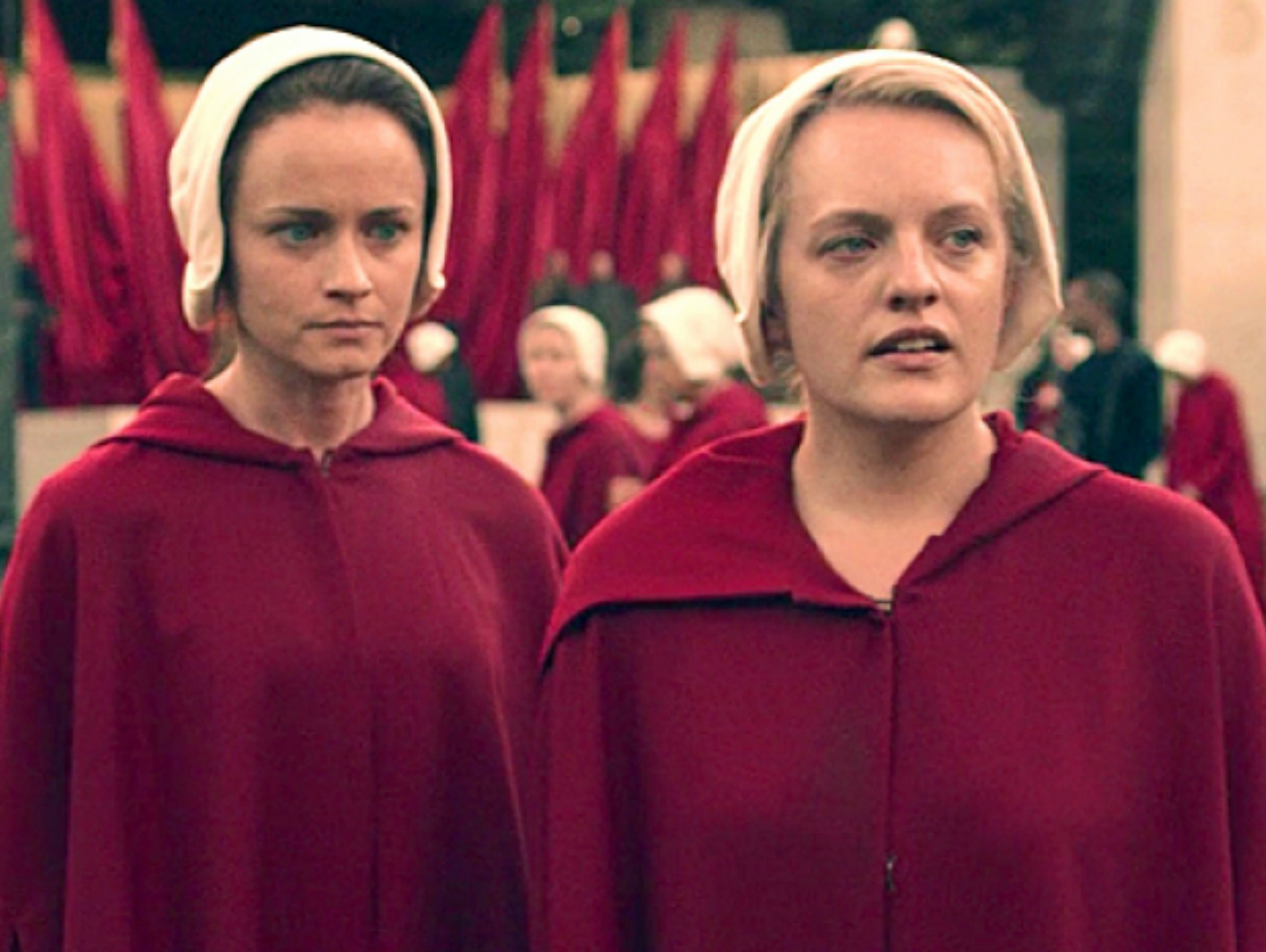 The New HANDMAID'S TALE Trailer is Harrowing AF