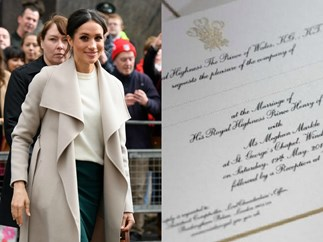 How Meghan Markle's previous marriage is subtly acknowledged on her wedding invites