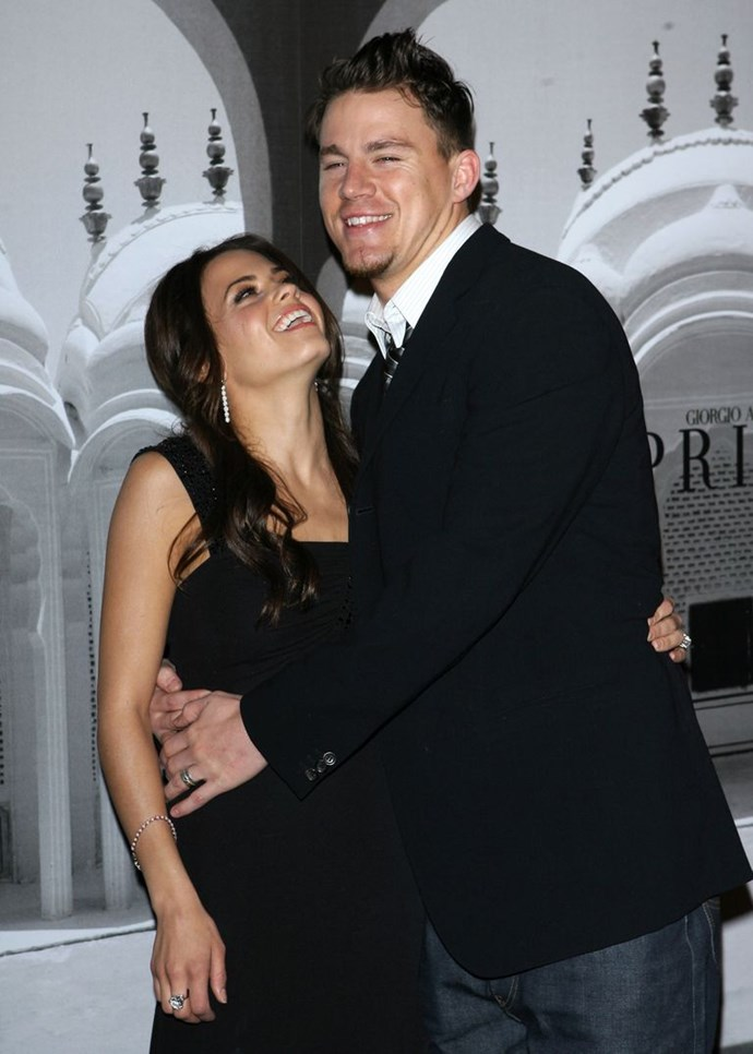 Jenna and Channing attend an Oscars event in Beverly Hills, California in 2007
