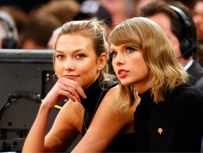 Karlie Kloss just gave an interview and made fans question her friendship with Taylor Swift, again