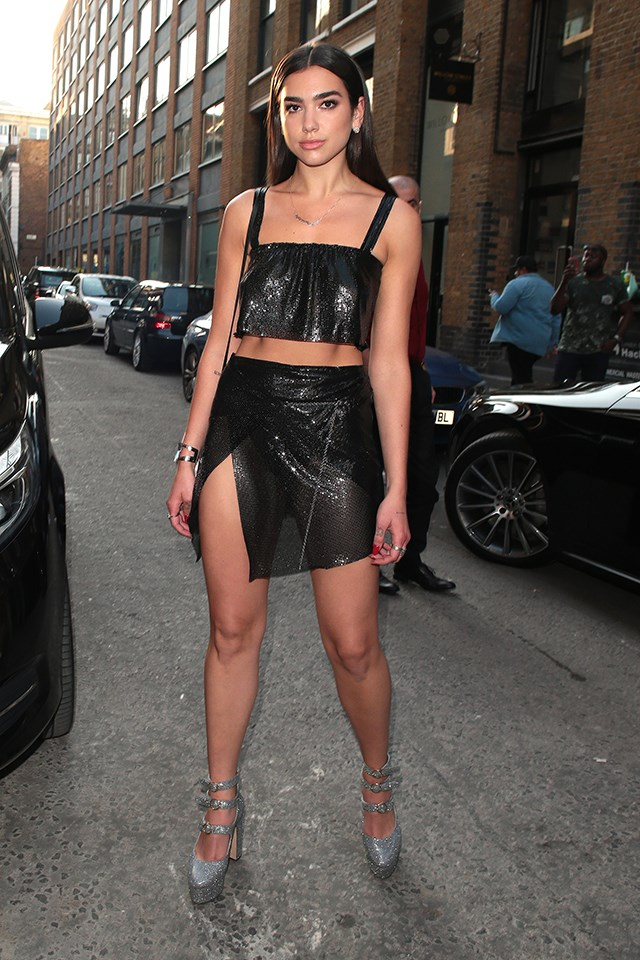 Dua Lipa in London in July 2017.