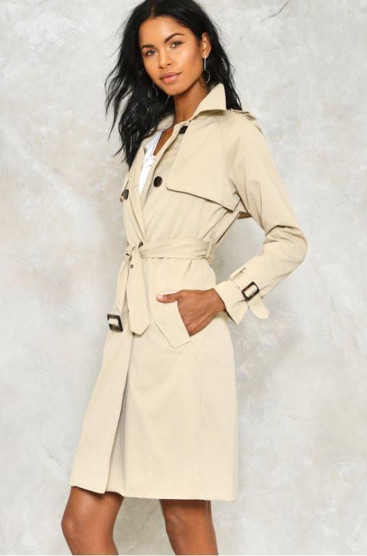 "Coat, $36 at [Nastygal](http://www.nastygal.com/au/rain-check-trench-coat/AGG99575.html|target=""_blank""|rel=""nofollow"")"