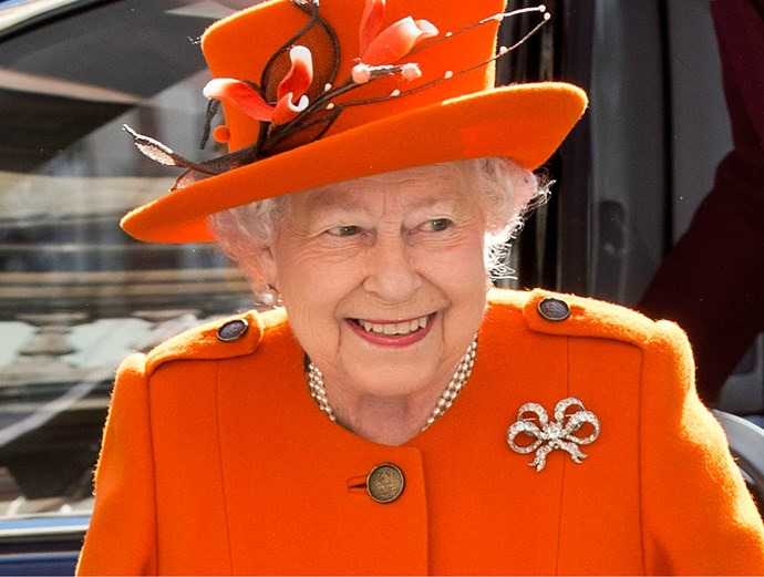 LOL! The Queen is kinda cracking jokes about Donald Trump in a forthcoming doco