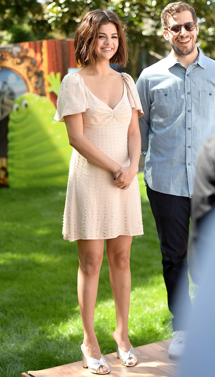 """Days after [frightful footage](https://www.elle.com.au/celebrity/selena-gomez-paparazzi-video-16275