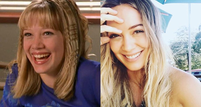**Hilary Duff — Lizzie McGuire from *Lizzie McGuire***