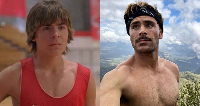 **Zac Efron — Troy Bolton from *High School Musical***