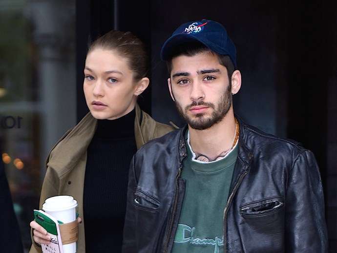 Don't freak out, but there's a video of Zayn Malik kissing a girl that's not Gigi Hadid