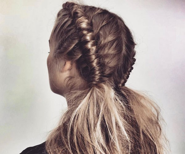 "The ""pipe braid"" is the dreamiest bohemian hairstyle to ever hit festival season"