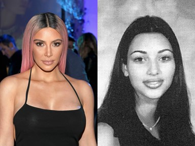 Kim Kardashian just went to her 20-year high school reunion and it's the ultimate #TBT
