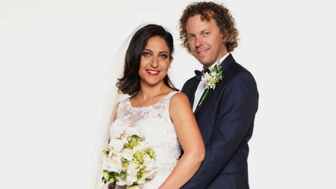 **Alene Khatcherian**, who was hitched to curly-haired Simon in season four.